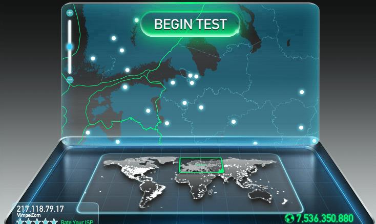 Способы проверки скорости Интернета для Ростелеком и других провайдеров