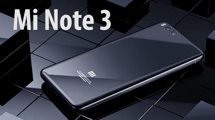 "фото ""Xiaomi Mi Note 3"""