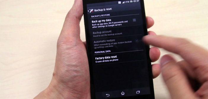 Полный сброс (hard reset) Samsung Galaxy S3 GT 72