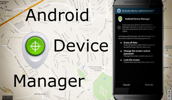 "фото ""Android Device Manager"""